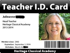 Homeschool Id Template by Homeschooling On 120 Pins