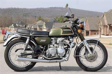 green with envy 1973 honda cb350f
