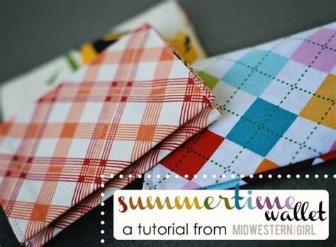 pattern magic wallet magic wallet tutorial crafts sewing pinterest
