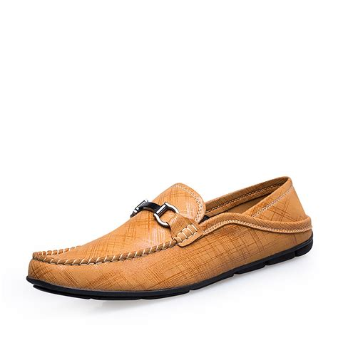 39 47 new mens loafers soft leather moccasins s flats