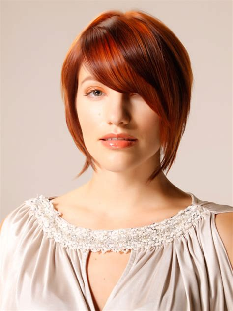 how to cut stack bob with side swept bangs 20 completely fashionable bob hairstyles with bangs