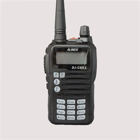 Jual Ht Alinco Dj W500 Dual Band Baru Radio Komunikasi Elektronik alinco dj crx5 ht dual band terbaru