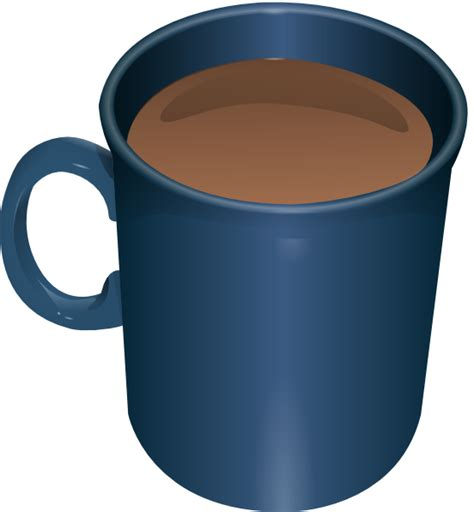 cartoon coffee mug coffee mug clip art at clker com vector clip art online