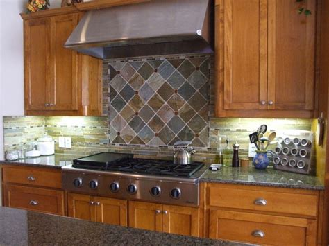 slate kitchen backsplash image gallery slate backsplash