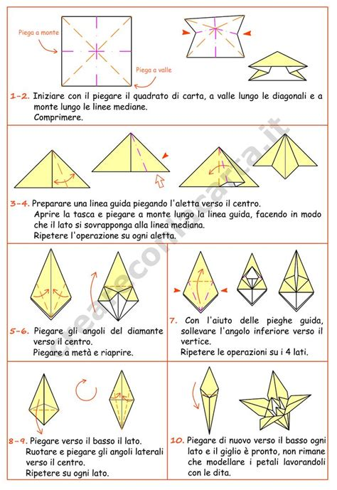 istruzioni origami fiori oltre 25 fantastiche idee su istruzioni origami su