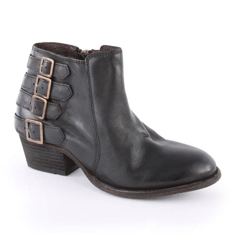 h by hudson encke womens ankle boots