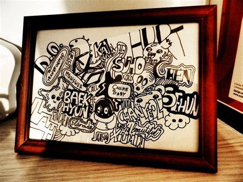 exo doodle wallpaper exo doodle by parkminhae on deviantart