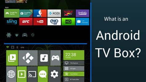 what is android tv box 101 what is an android tv box