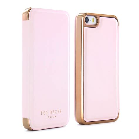 Softcase Ultrathin List Chrome Apple Iphone 6 6s 4 7 In Diskon official ted baker mirror folio for apple iphone 7 with gold ebay