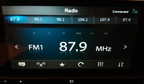 fm radio for android pioneer appradio sph da01 review roadshow