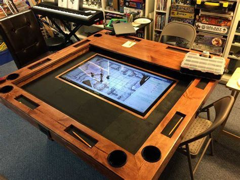 build  high  gaming table