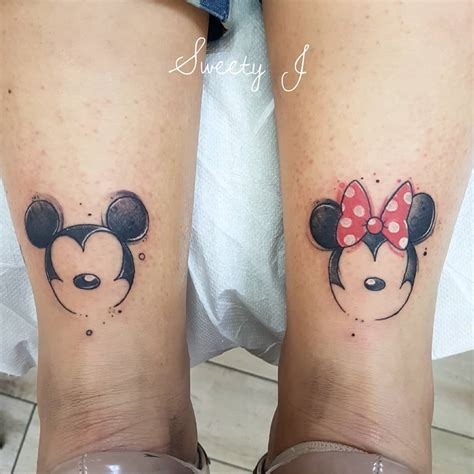 mickey mouse and minnie mouse couple tattoos mickey and minnie mouse designs best image and