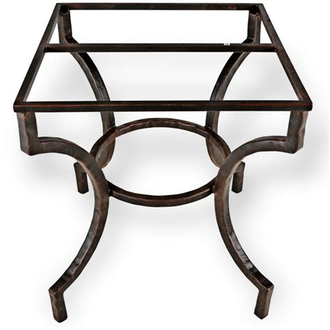 Iron Table Base by Pictured Here Is The Corinthian Dining Table Base Only