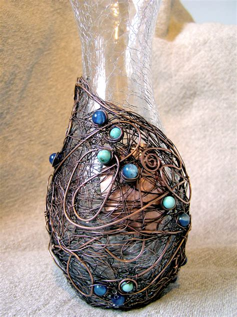 Wire Vases by Decorative Items Wire Moon