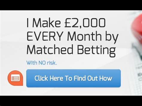 How To Make Money Betting Online - how to make money online with profit accumulator matched betting youtube