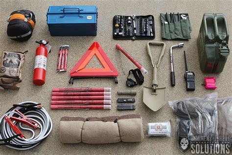 survival truck gear 13 items you need in a winter emergency vehicle kit