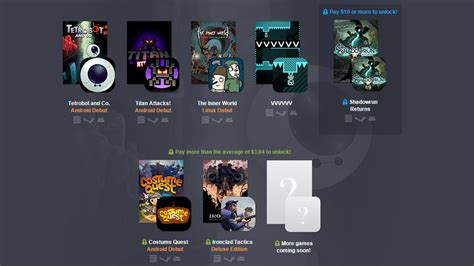 android bundle the humble pc and android bundle 12 includes 7 3 android debuts with more on the