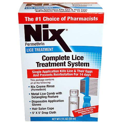 lice treatment nix complete lice treatment system patient information description dosage and