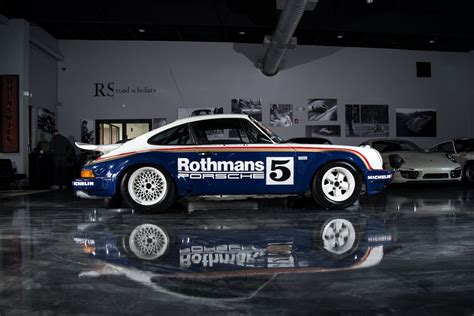 rothmans porsche 911 1984 porsche 911 scrs rothmans unrestored sold road