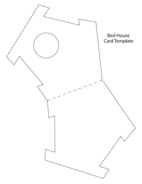 birdhouse template