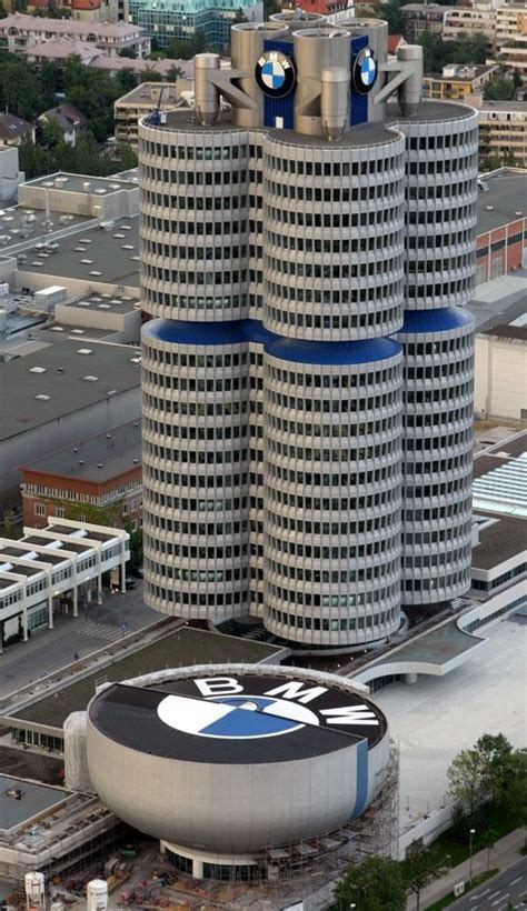 sede bmw germania bmw headquarters munich germany architecture