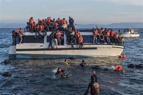 syrian refugee crisis boat eu turkey agreement is the eu s refugee return program legal
