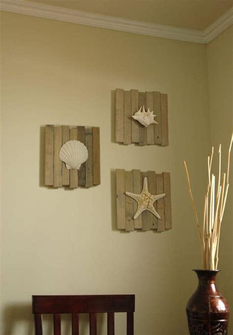 beach wall decor for bathroom home d 233 cor with beach shells decozilla