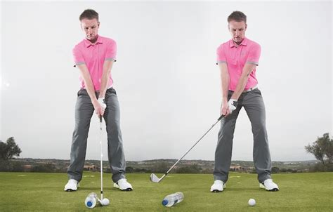 slow golf swing tempo slow your swing down under pressure golf magazine news