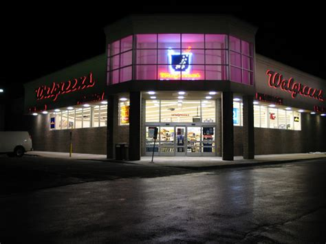 the signage of negative space walgreens