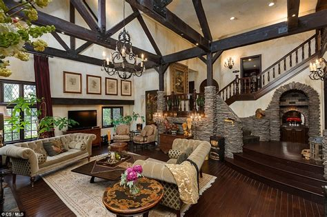 beautifully decorated living rooms megadeth s dave mustaine lists his california mega estate