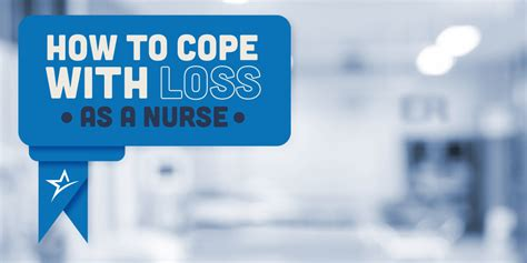 how to cope with losing a how nurses can cope with loss when a patient dies