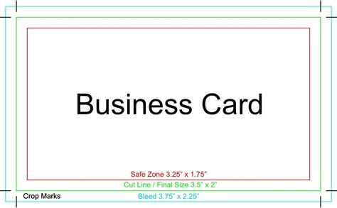 Business Cards Templates Word by Business Card Template For Microsoft Word Gallery