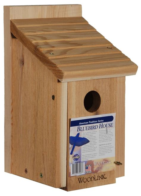 easy bird house simple bird house built with kiln dried red cedar wood with sloped roof