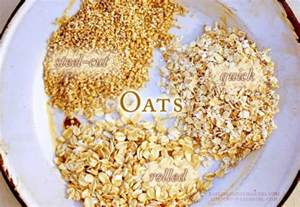 Why are there different types of oatmeal what s the difference