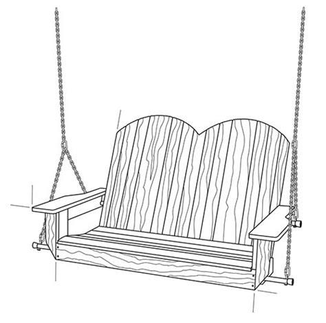 diy porch swing plans ideas  chill