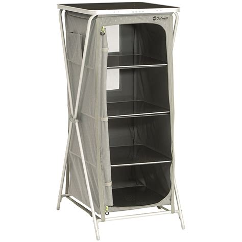 Outwell Wardrobe - outwell bermuda cing wardrobe with table top leisure