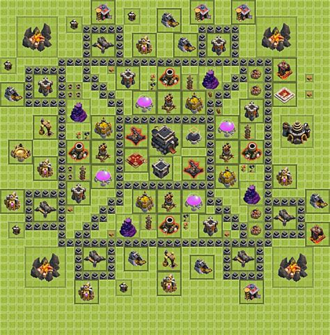 layout guide coc clash of clans base design tips clash of clans guide th8