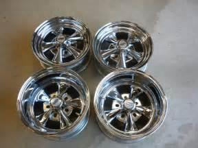 Cragar Truck Wheels For Sale Four New Never Used Cragar Ss Chrome Unilug Wheels Ebay