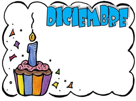 imagenes de cumpleaños en diciembre cartel de cumplea 241 os para el aula imagui