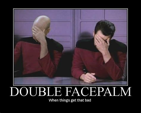 Double Facepalm Meme - double facepalm meme