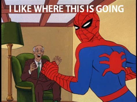 1960s Spiderman Meme - image 110230 60 s spider man know your meme