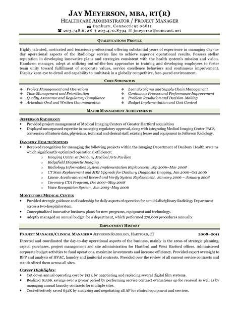 Healthcare Medical Resume Sample Radiologic Technologist