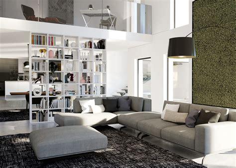 librerie da soggiorno le librerie componibili da soggiorno 20 modelli con tante