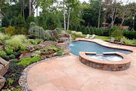 pool patio ideas landscaping ideas by nj custom pool backyard design expert