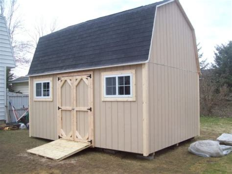 gambrel barns  shed guy