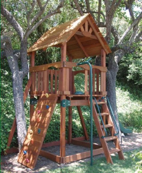 small backyard play structures hakalugi s bamboo fence play structure makeover