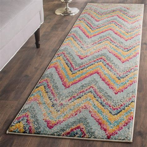 safavieh monaco multi 2 ft 2 in x 8 ft runner rug