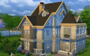 Small Victorian House Plans family house no 1 at jarkad sims 4 blog 187 sims 4 updates