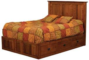 amish custom made beds amish furniture