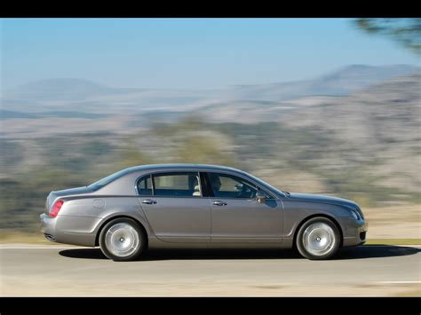 2005 bentley flying spur 2005 bentley continental flying spur side speed